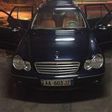 SHITET Mercedez Benz C klas 220 CDI EVO 2005