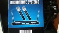 Sistem mikrofonash me valë për DJ (Di Xhej)
