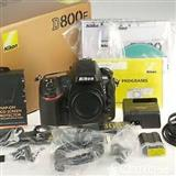D800E Nikon 36.3 MP Digital SLR Camera - Black (..
