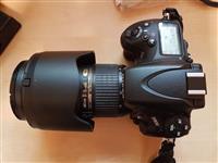 Nikon D800 me lente Nikkor