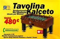 Tavolina Kalceto Profesionale me Xhetona