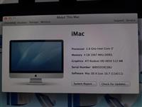 "Apple iMac 27"" Late 2009 2.8 GHz i7 4Gb ram 500Hdd"