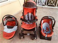 KARROCE CHICCO TRIO SET