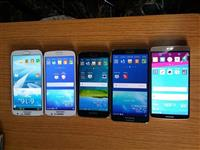 Samung S5, S4, S3, Note2,3,LG G3, G2, iPhone