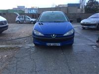 Peugeot 206 blu