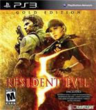 REZIDENT EVIL 5 Gold Editions ps3 playstation
